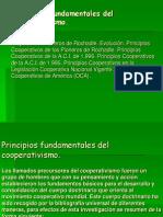 Principios Fundamentales Del Cooperativismo