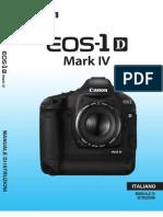 Eos1d IV manuale utente
