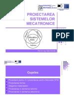 Proiectarea sistemelor mecatronice