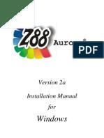 Install Z88