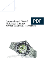 IFRS 2012 Model Financial Statement
