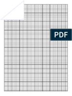 Graph Paper - 83x101