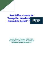 Psicolog Teoria Gestalt