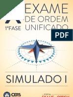 616 1 Simulado Oab 1f x Exame Novo Editado