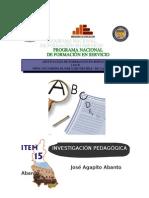 LA INVESTIGACIÓN PEDAGÓGICA.doc