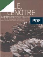 Ecole Lenotre-Patisserie Grands Classiques Et Creations