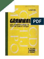 Langue Française Grammaire CE1 CE2 Villards Marchand Vionnet