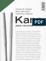 James W. Heisig, Marc Bernabé y Verónica Calafell - Kana para Recordar (Orden de Estudio)