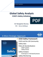 ICAO Global Safety Analysis Safety Initiatives