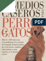 Animales - Remedios Caseros Para Perros y Gatos