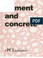 46852710 Cement and Concrete PCI Booklet 1986 8th Ed