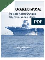 Dishonorable Disposal_BAN Report