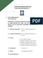 PROYECTO REVISTAS LITERARIAS..doc