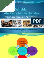 Taller Variables Afectivo - Motivacionales