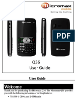 Q36 User Guide MMX1