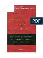 74559929 Rubin Harriet Maquiavelo Para Mujeres PDF(VISTO)