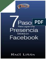7 Pasos Para Lograr Una Presencia Efectiva en Facebook