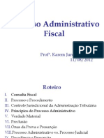 Processo Administrat Fiscal Federal