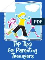 Top Tips for Parents Teenager