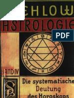 Vehlow Johannes Band IV Die Systematische Deutung Des Horoskops