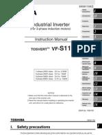 Manual Variador de Frecuencia Vfs 11 Toshiba