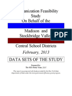 Madison-stockbridge Valley Study Data Sets 2013
