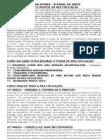 1 - cinco passos para multiplicaçao