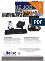 Lifeloc Technologies Fall 2012 Ad for Wireless Workplace Evidential Breath Testers