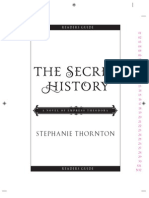 Thornton TheSecretHistory Readersguide