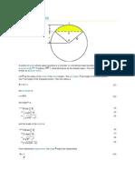 Circular Segment Properties