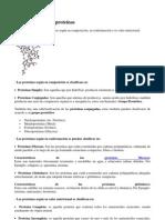 Clasificación de las proteínas