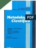Metodologia Cientifica Lakatos e Marconi