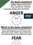 6 Basic Human Emotions