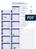 Calendario 2013 - Intranet