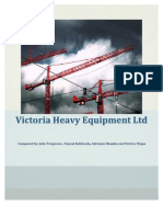 Victoria Heavy Equipment Final- Group 1