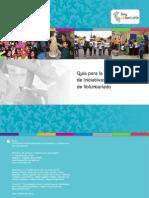 Guía para la Sistematización de Iniciativas y Experiencias de Voluntariado