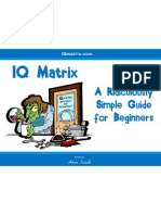 IQmatrix Guide for Beginners