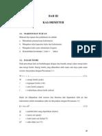 Bab 3 - Kalorimeter