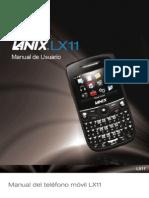 Manual LX11