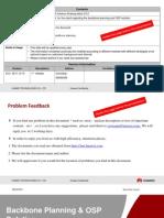 Backbone Planning & OSP Solution(Training Slide)V3.0