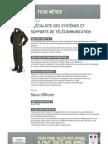 AA Specialiste Des Systemes Et Supports de Telecommunication