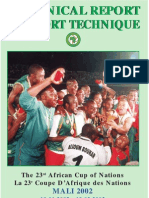 2002 - Africa Cup of Nations - Technical Report