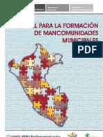 Manual PRODES Mancomunidades Presentacion