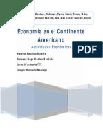 Economía en el Continente Americano