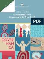 Levantamento GovernancaTI Tcu 2010