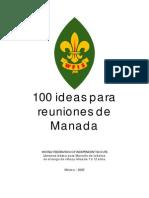 100 Ideas Para Reuniones de Manada WFIS