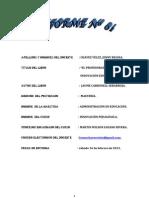informes maestría 2013