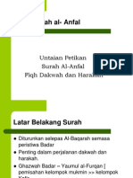 Nota Tafsir Surah Al Anfal
