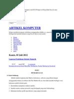 Praktikum Numerik Dengan Matlab