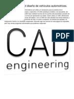 Uso del CAD en el diseño de vehículos automotrices